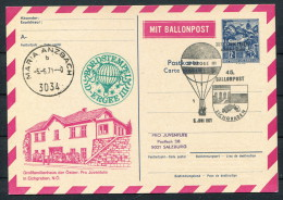 1971 Austria Pro Juventute Charity Ballonpost Flight Maria Anzbach Ballonpost Österreich - Balloon Covers