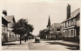 ETATS UNIS - FLINT - CHURCH STREET - VEHICULE ANCIEN EN 1957 - Flint