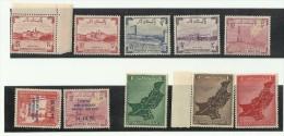 Pakistan 1955 Year Pack Map Flag United Nations UN U.N Textile Jute Paper Mills Industry Development Natural Gas Reserve - Pakistan