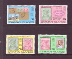 CAIMANS 1976 75 ANS DU TIMBRE  YVERT N°367/70  NEUF MNH** - Cayman Islands
