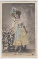 "FEMMES - FRAU - LADY - "" Rosie CONNERLEY"", "" ALHAMBRA"", Charmante Jeune Femme Avec Chapeau - Beroemde Vrouwen"