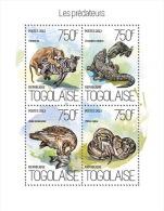 TOGO 2013 - Predators, Python - YT 3657-60; CV = 17 € - Serpents
