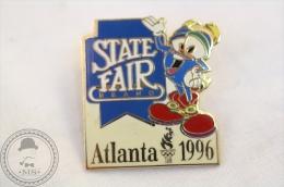 Olympic Games - State Fair Brand Atlanta 1996 - Izzy Mascot - Pin Badge  - #PLS - Juegos Olímpicos