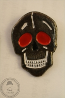 Motorbikes/ Motorcycle Club Skull Head - Pin Badge - #PLS - Motos