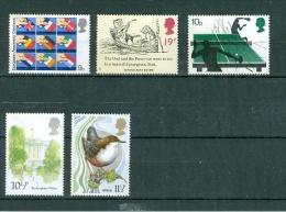 Grossbritannien Sondermarken (Europa-Wahl, Eule + Katze, Tischtennis, Buckingham Palace, Vogel - Dpper) Ungebraucht - 1952-.... (Elisabeth II.)