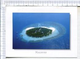 MALDIVES  -  An Aérial View Of Lhuru, A  Wonderful Island In The  Atoll Of Kaafu - Maldives