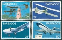1973 Barbados Aerei Aicraft Avions Set MNH** -Tra22 - Barbados (1966-...)