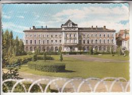 RIVE DE GIER 42 - Hotel De Ville Et Jardin Public - Jolie CPSM GF - Loire - Rive De Gier