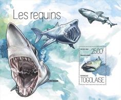 tg13818b Togo 2013 Fish Shark s/s