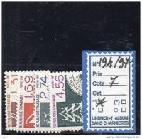 PREO LUXE ** 194/97 - 1964-1988