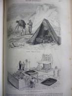 La Photographie , Appareils De Campagne , Gravure Cagniet 1863 Avec Texte Sur 3 Pages - Documents Historiques