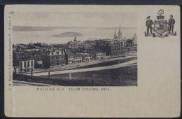 WB991 HALIFAX N.S. - FROM CITADEL HILL ( RETRO INDIVISO ) - Halifax