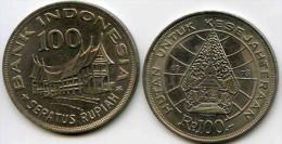 Indonesie Indonesia 100 rupiah 1978 KM 61