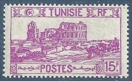 1945-49  Tunisie  N° 293  Nf**. Amphithéatre D'El Djem . - Ungebraucht