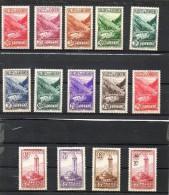 ANDORRE FRANCAIS    14 Timbres    1932-33        (neufs Avec Charnière) - Andorre Français