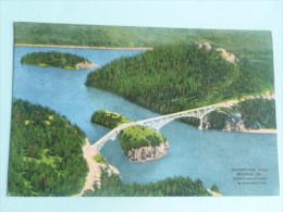 WASHINGTON - Deception Pass Bridge In Northwestern - Etats-Unis
