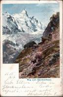 ! Postkarte Weg Zum Glocknerhaus, Künstlerkarte Sign. ET Compton , Kärnten, Stempel Heiligenblut 1914 - Compton, E.T.