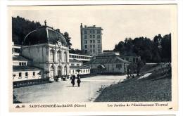 58 - Saint Honoré Les Bains - Les Jardins De L'établissement Thermal - Editeur: Menin N° 60 - Frankrijk