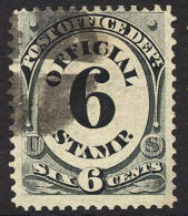 US O50 Used 6c Post Office Official From 1873 - Officials