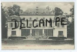 CPA - Ressons Le Long - Le Château De Mainville - France