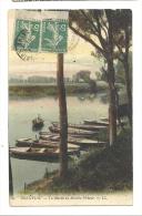 Cp, 94, Bonneuil, La Marne Au Martin Pêcheur, Voyagée 1911 - Bonneuil Sur Marne