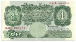 Great Britain 1 Pound Beale 1949-55  *V* - …-1952 : Before Elizabeth II