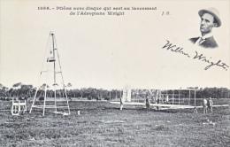 US  AEROPHILATELIC  WRIGHT  BROS. In  FRANCE      *  Unused  Card - Air Mail