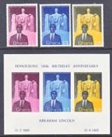 GHANA  39-41a     ** - Ghana (1957-...)
