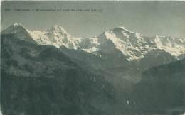 INTERLAKEN - Alpenpanorama Vom Harder Aus - BE Berne