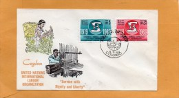 Sri Lanka Ceylon 1969 FDC - Sri Lanka (Ceylon) (1948-...)