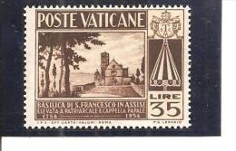 Vaticano Yvert 204 (MH/(*)) (sin Goma) - Vaticano (Ciudad Del)
