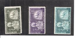Vaticano Yvert 210-12 (MH/(*)) (sin Goma) - Vaticano (Ciudad Del)