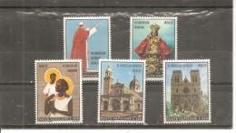 Vaticano Yvert 513-17 (MNH/**) - Vaticano (Ciudad Del)
