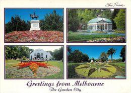 Melbourne Garden City, Victoria, Australia Postcard Used Posted To UK 1997 Stamp - Melbourne