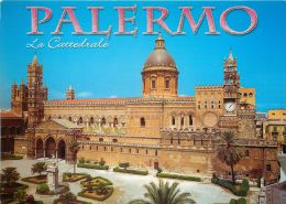 Cathedral, Palermo, Sicilia, Italy Italia Postcard Used Posted To UK 2009 Stamp - Palermo