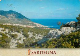 Cala Gonone, Dorgali, Sardegna, Italy Italia Postcard Used Posted To UK 2004 Stamp - Nuoro