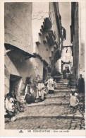 Costanantine 109 Une Rue Arabe - Constantine