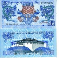 BHUTAN BANCONOTA FDS 1 NGULTRUM 2006 - Bhutan