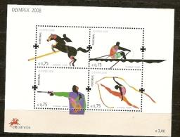 Portugal ** & Jogos Da XXIX Olimpiada, Olympex 2008 (Nº373) - Blocks & Sheetlets