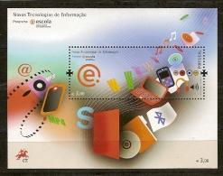 """Portugal ** & Nouvelles Technologies Information """"Cada Aluno, Um Computador"""" 2008 (Nº383) - Blocs-feuillets"""