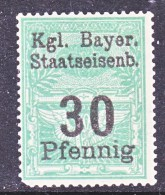 BAVARIA  31 * BAYRISCHE STAATSEISENBAHNEN - Bavaria