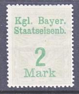 BAVARIA  39  *  BAYRISCHE STAATSEISENBAHNEN - Beieren