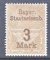BAVARIA  51 *    BAEYRISCHE  STAATSEISENBAHN - Beieren