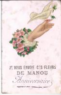 Je Vous Envoie Ces Fleurs De Manou  Etat Moyen !! - France