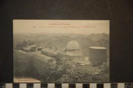 BAGNERES DE BIGORRE (Environs) - Sommet Du Pic Du Midi. La Table D'Orientation Et L'Observatoire - Bagneres De Bigorre
