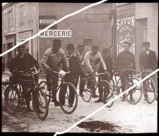 COURSE CYCLISTE    TIRAGE D APRES PLAQUE PHOTO UNIQUE SUR DELCAMPE VOIR DESCRIPTION - Reproductions