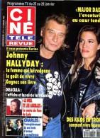 Ciné Télé Revue 9303 Hallyday Dracula Nataf Redford Jean Gabin Chad Allen - Télévision