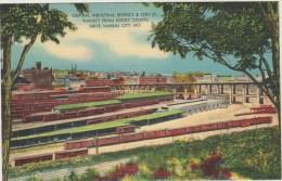 Cpa   Amerique Missouri Kansas City Central Industrial District  Viaduc From Kersey Coates Drive  Gare - Kansas City – Missouri
