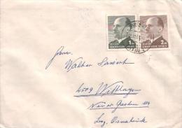 DDR / GDR - Mi-Nr 968/969 Umschlag Echt Gelaufen / Cover Used (d381) - Lettere
