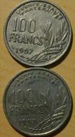 100 FRANCS COCHET 1957 - France
